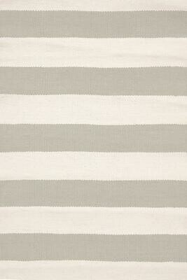 Doormat  - Catamaran Stripe (Platinum/Ivory)