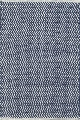 Doormat  - Herringbone Indigo
