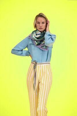 POM Scarf - Stripes Lucky Charms