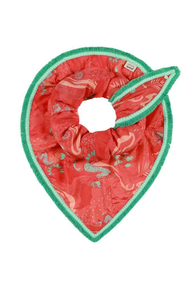 POM Scarf - Full of Luck (Cherry)
