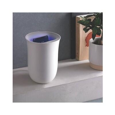 Lexon Oblio - Phone Charger & Sanitizer (WHITE)