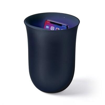 Lexon Oblio - Phone Charger & Sanitizer (CHARCOAL)