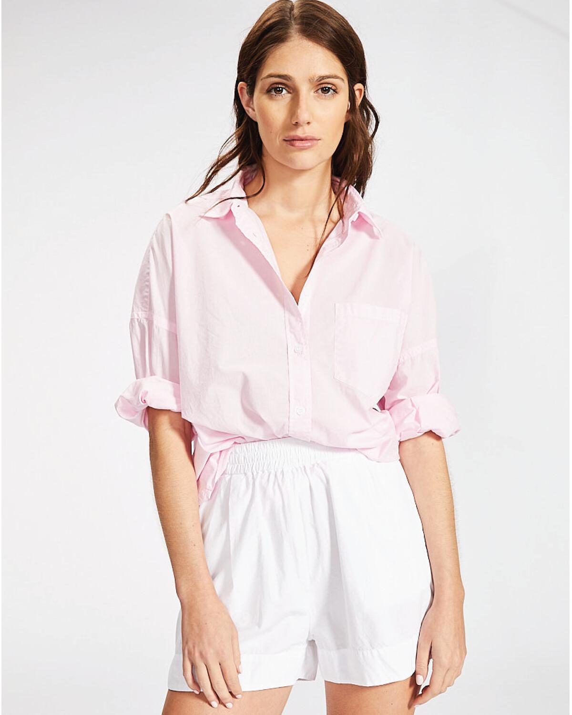 The Chiara Shirt - Pink Gelato
