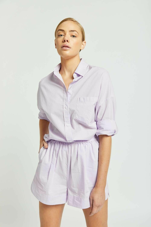 The Chiara Shirt - Lilac