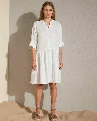 Bid Dress - Porcelain