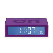 Flip Clock - Purple
