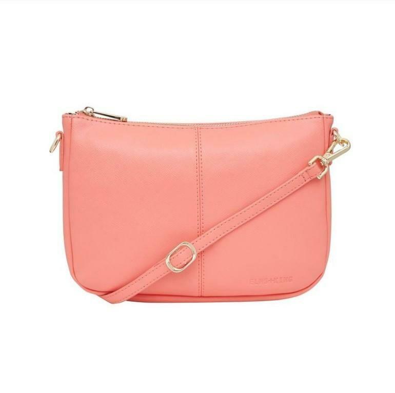 Bowery Shoulder Bag - Flamingo