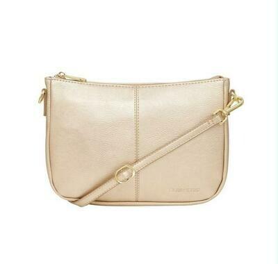 Bowery Shoulder Bag - Light Gold