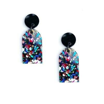 Arc Earring- Glitter