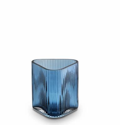 Profile Vase - Blue Small