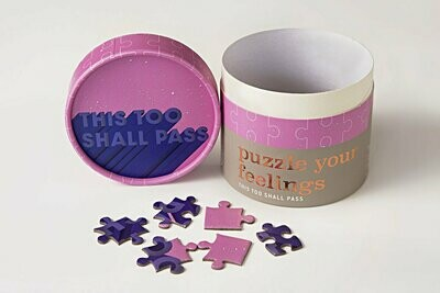 Mini Puzzle - This Too Shall Pass