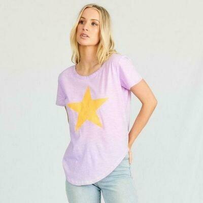 Stardust Crew Tee - Cool Lilac