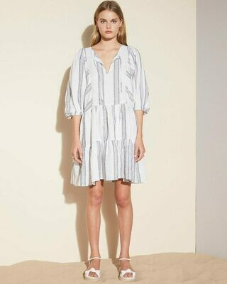 Glee Dress -Anchor Stripe