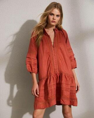 Mingle Dress - Clay