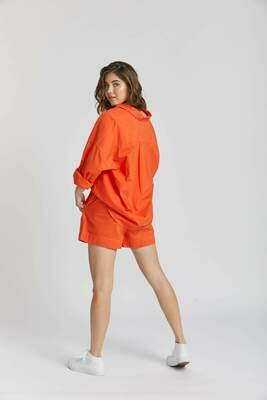 The Chiara Shirt - Orange Soda