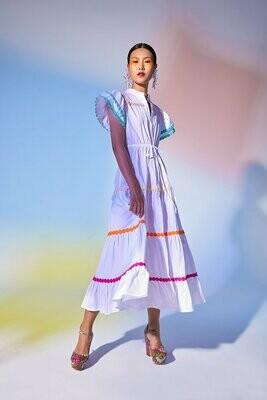 Baba Dress - White