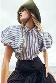 Mirabelle Blouse - Stripe