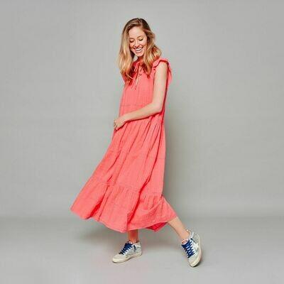 Amber Dress - Coral