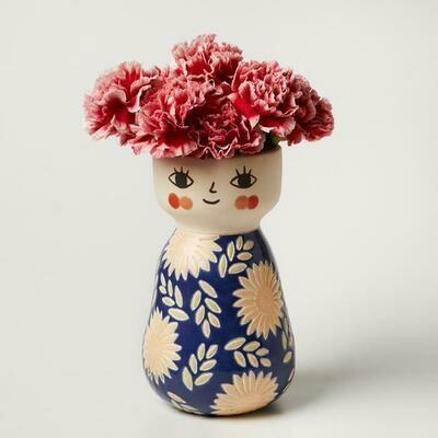 Face Vase - Miss Cozette FLORAL