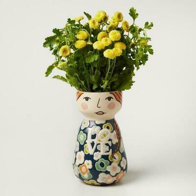 Lovisa Face Vase