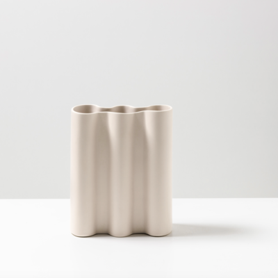 Wave Vase - Natural