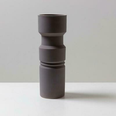 Miami Vase - Grey