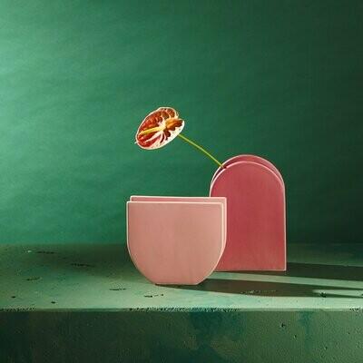 Lunar Vase - Peach (small)