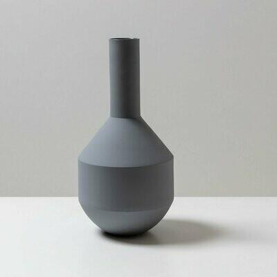 Palmetto Vase - Grey