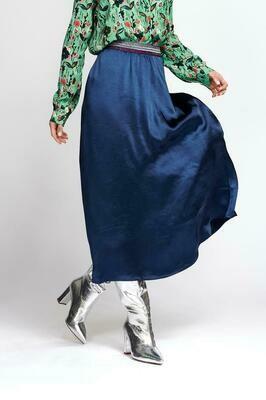 Night Blue Skirt