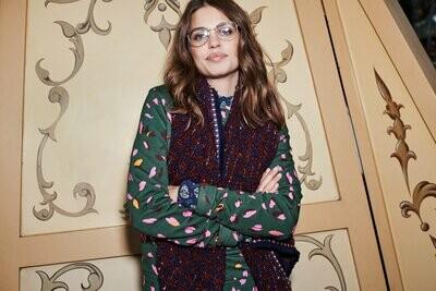 Sweater - Leopard Floral