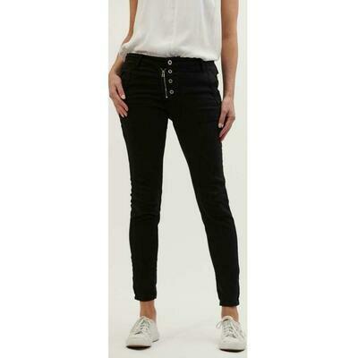 Button Jean Classic - Black