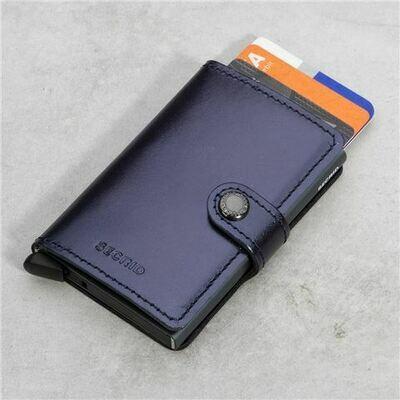 Secrid Wallet - Metallic Blue