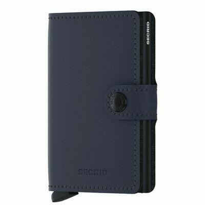 Secrid Wallet -Matte Night Blue