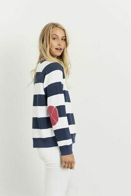 Uni Stripe Windy - Old Navy & Portsea Red