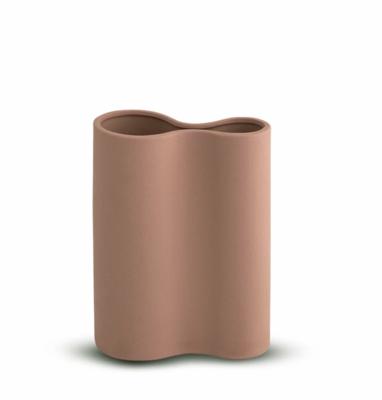 Smooth Infinity Vase - OCHRE Small
