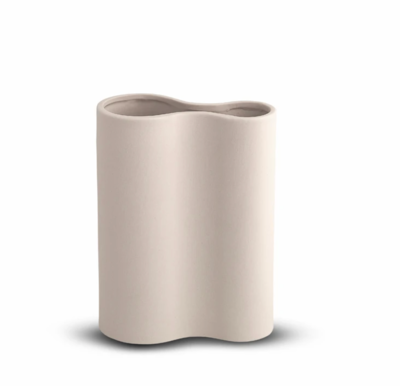 Smooth Infinity Vase - NUDE Small