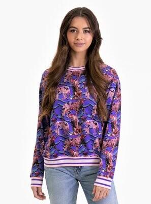 Neon Cheetah Sweater