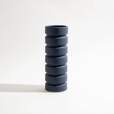 Mima Vase - Midnight Blue
