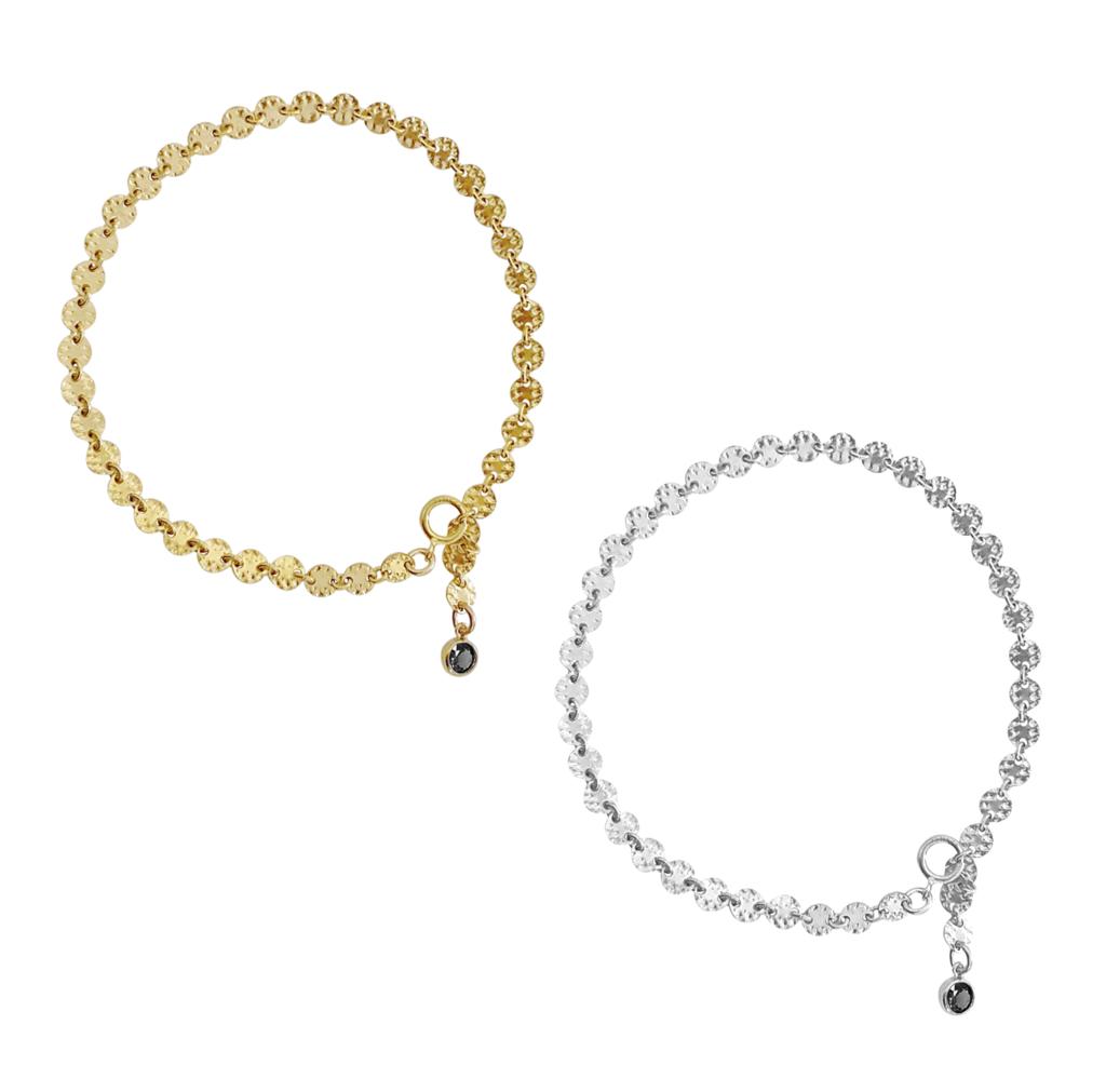 Emery Disc Bracelet - GOLD