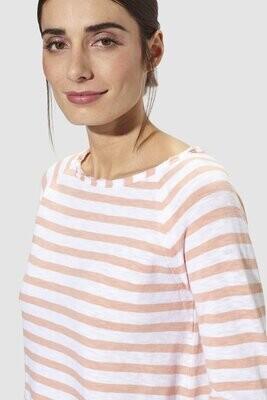 Jersey Longsleeve Stripe - blush