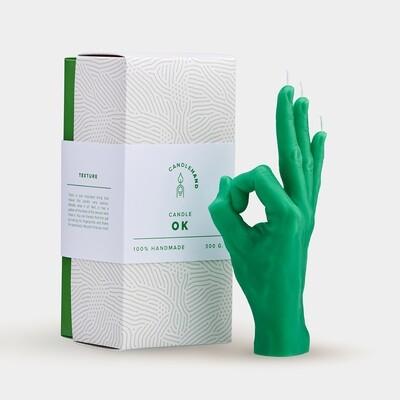 OK Candlehand - Green