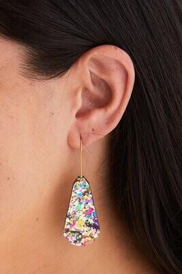 Kin Earrings - Gold/Confetti