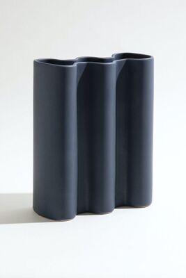 Wave Vase - Midnight