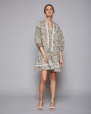 Beckon Dress - Meadow Print