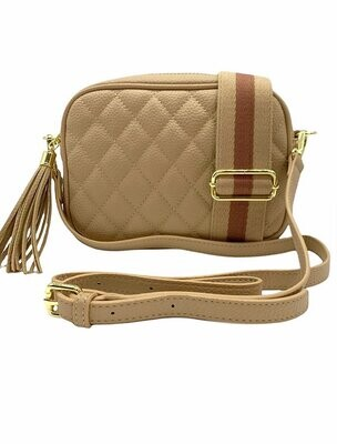 Ruby Bag - Quilted Nude