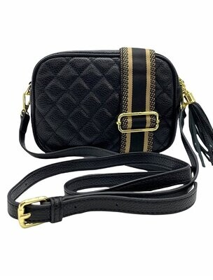 Ruby Bag - Quilted Black