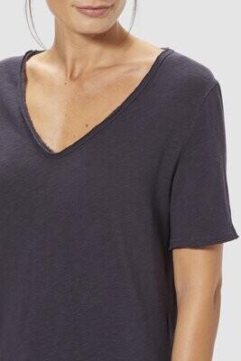 T Shirt - Navy Jersey