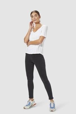 T Shirt - White Jersey