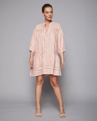Beckon Dress - Flamingo