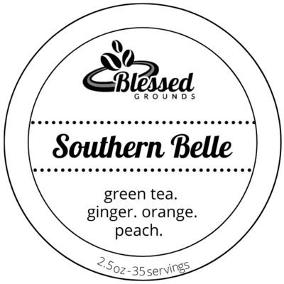 Tea Tin - Southern Belle